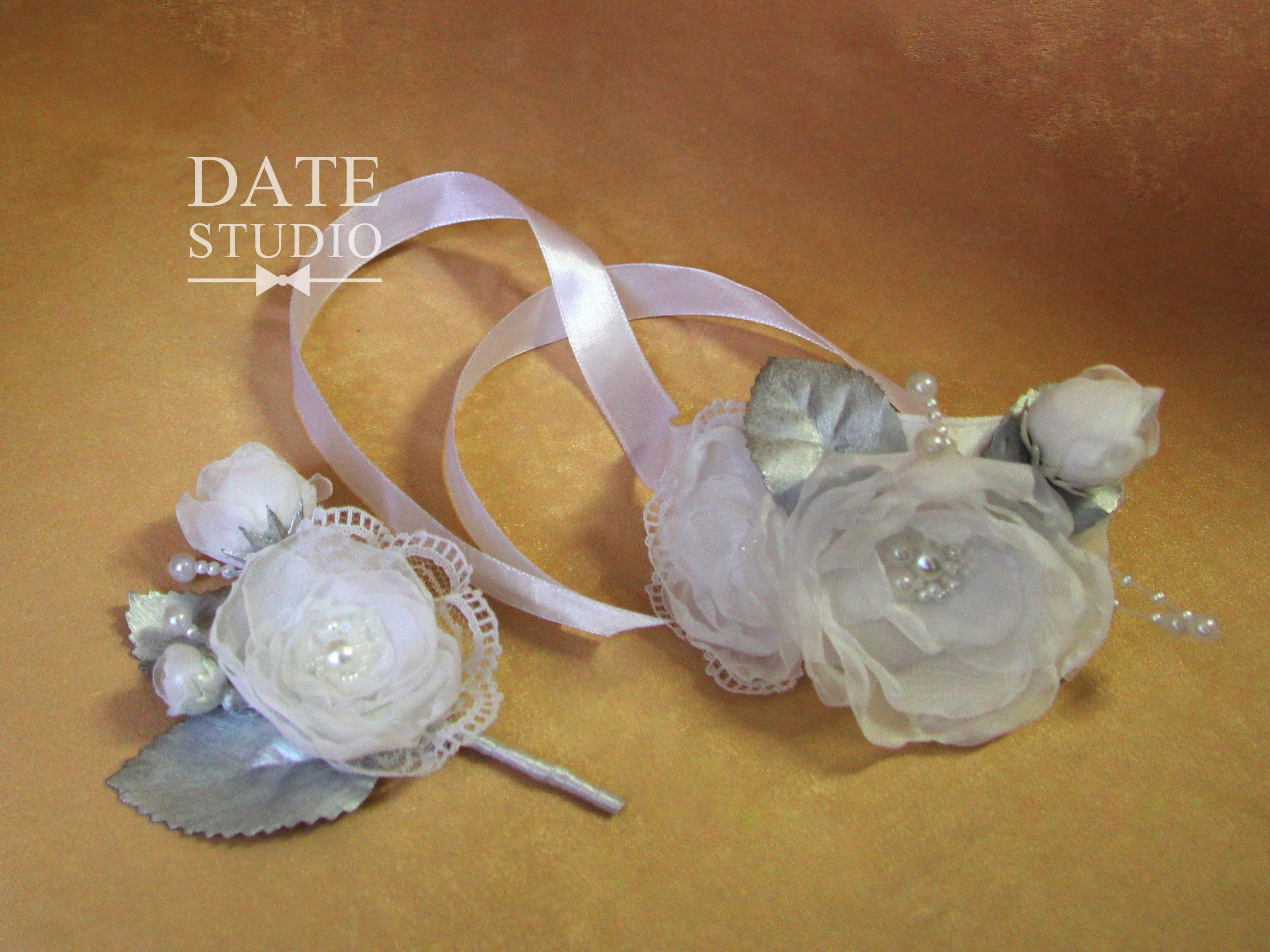 бокалы бутаньерка подушечка невеста браслет свадьба свадебныйдекор