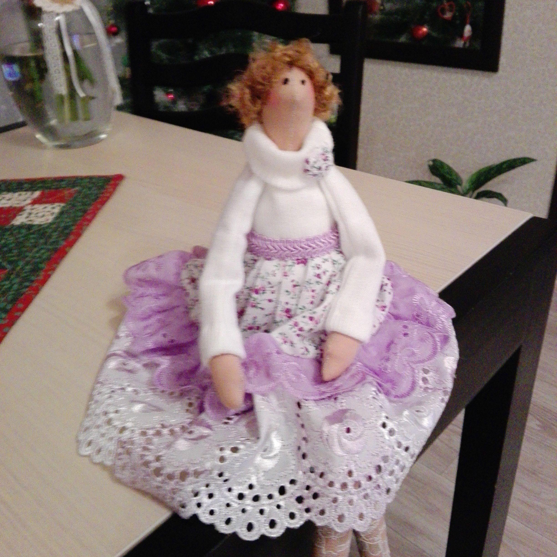 новый ручная работа кукла тильда год подарок