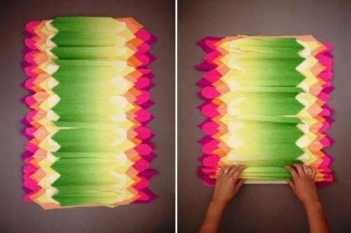 Цветы из гофрированной бумаги своими руками 8