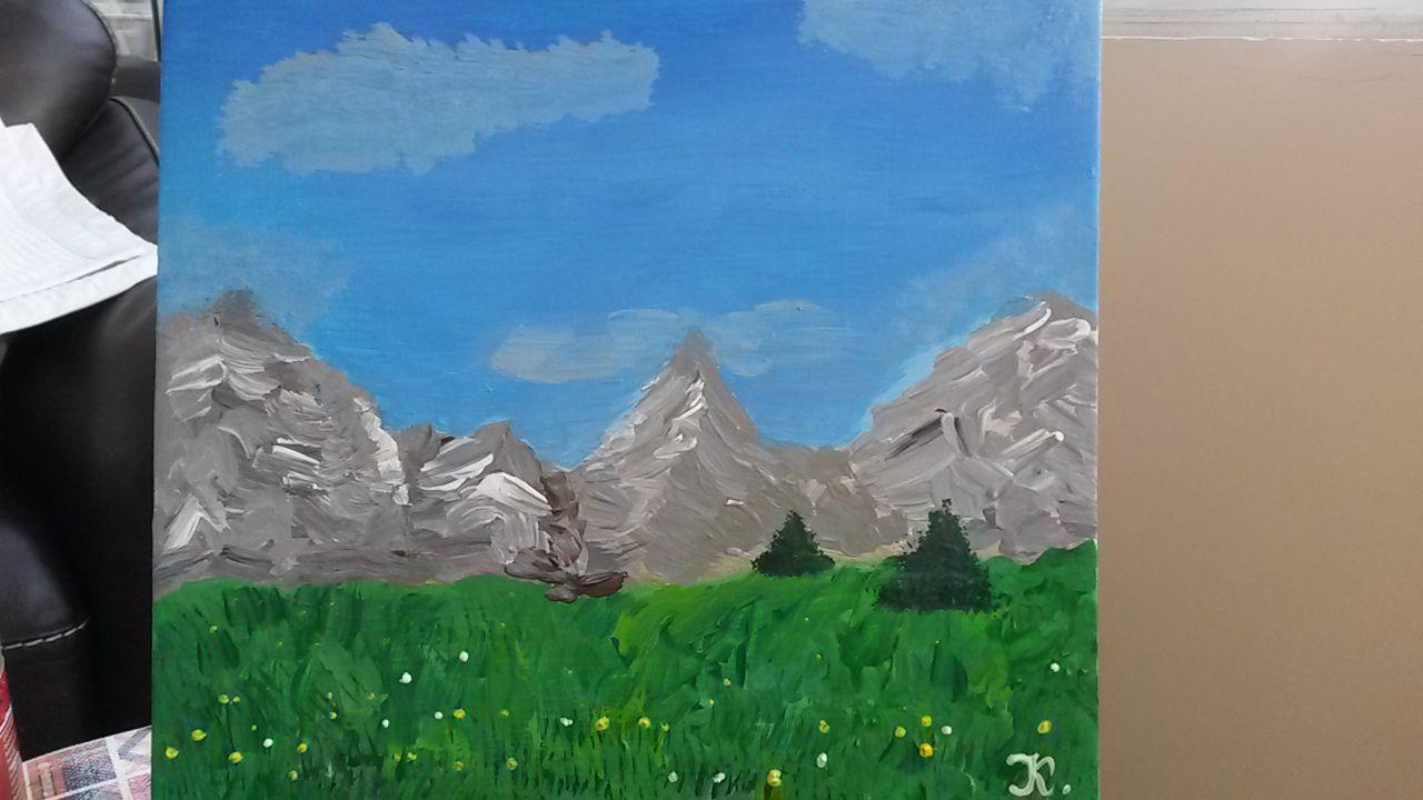 дурмитор горы картина пейзаж