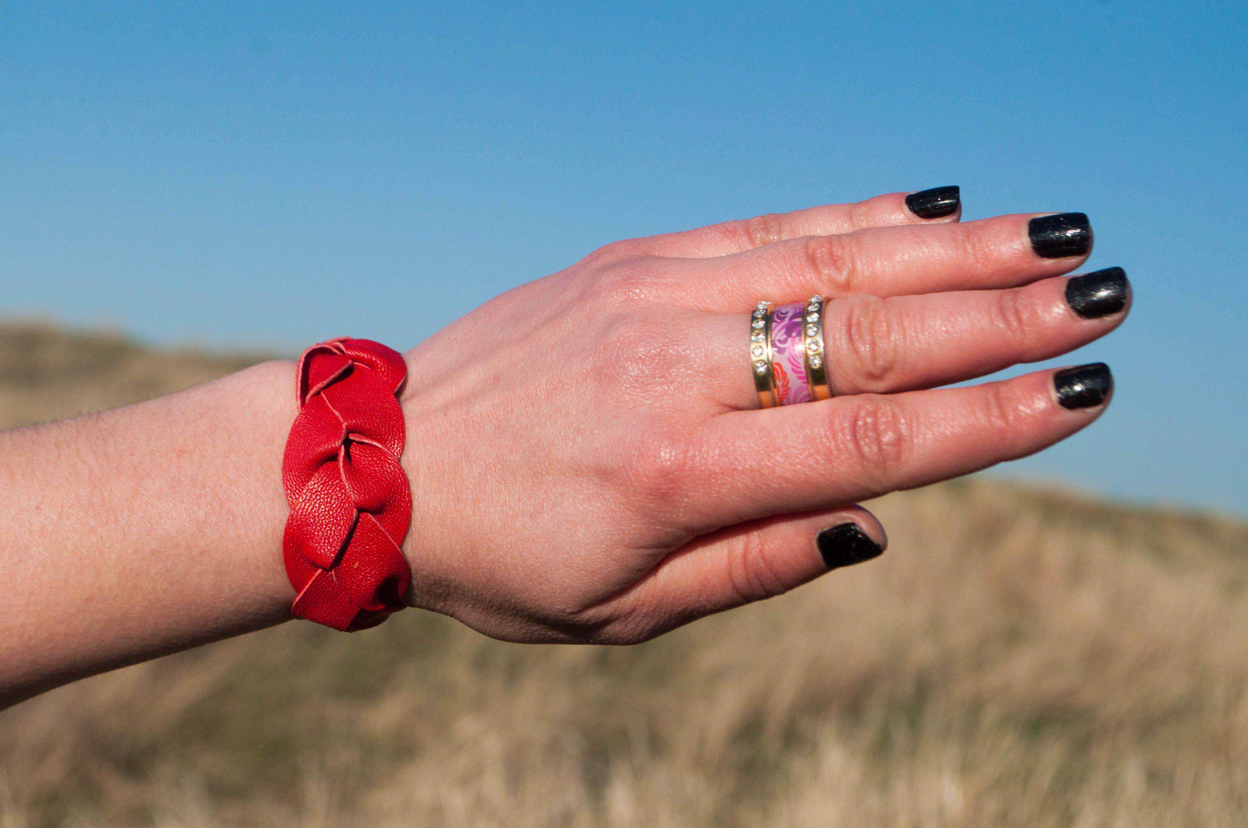 браслеты яркие женские летние аксессуары украшения кожи натуральной