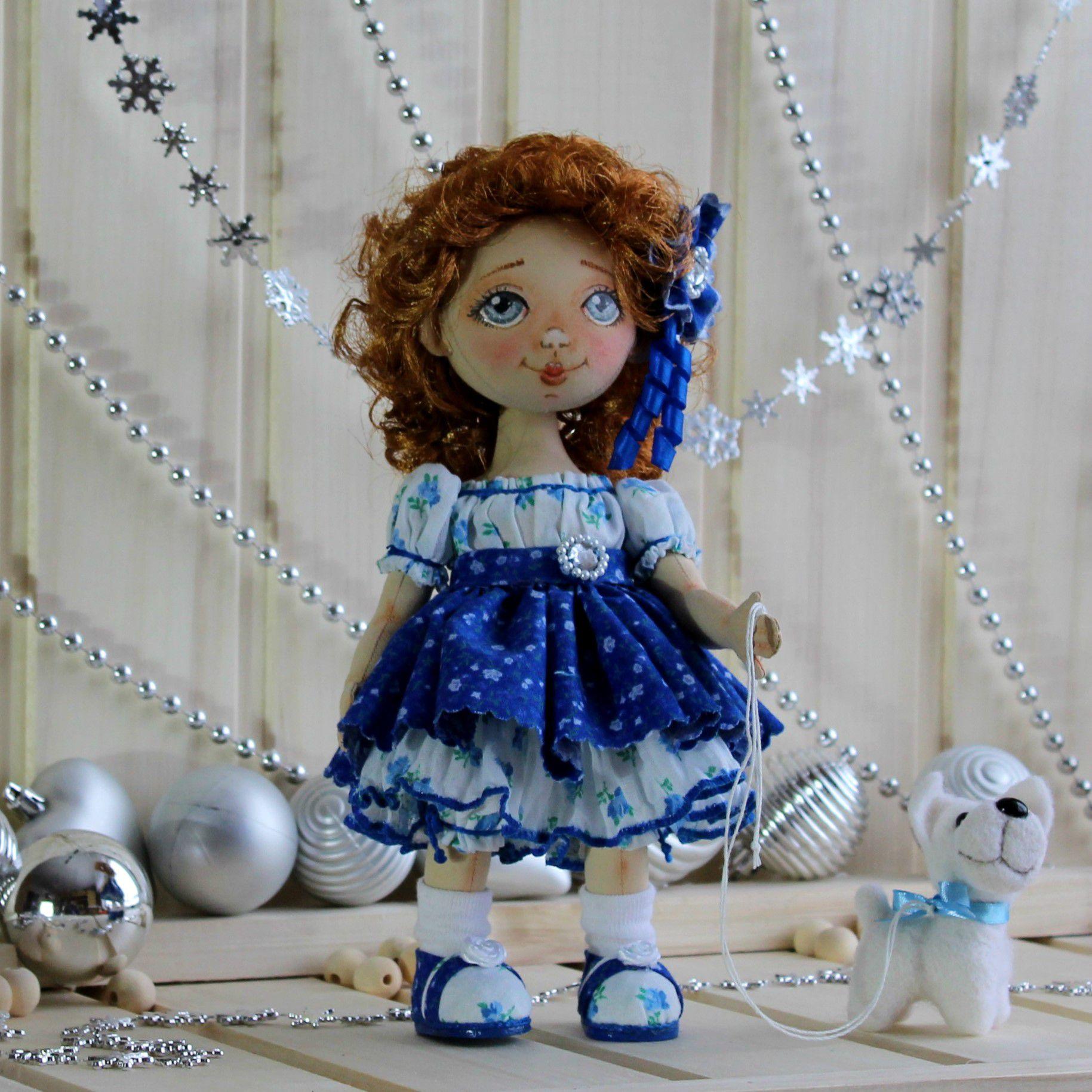 текстильная подарки праздник кукла любимая интерьерная