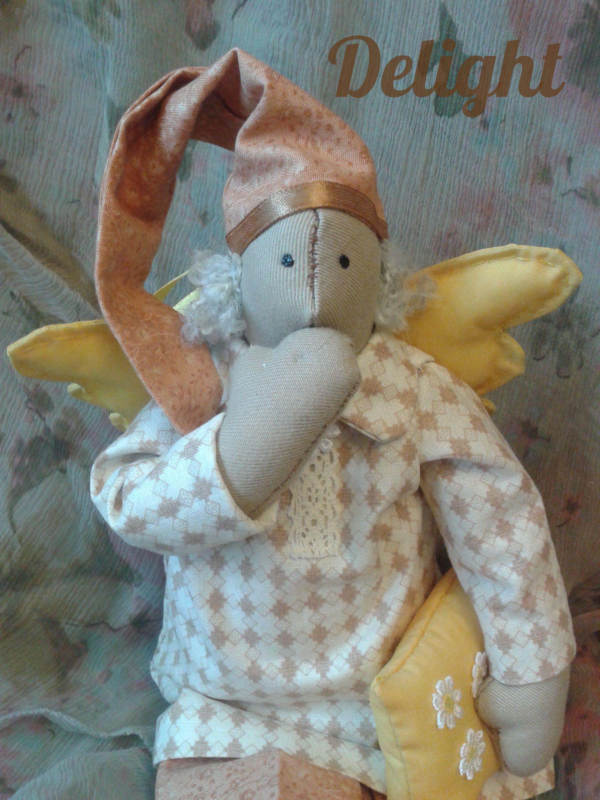 delight куклавстилетильда подарок кукла интерьер тильда