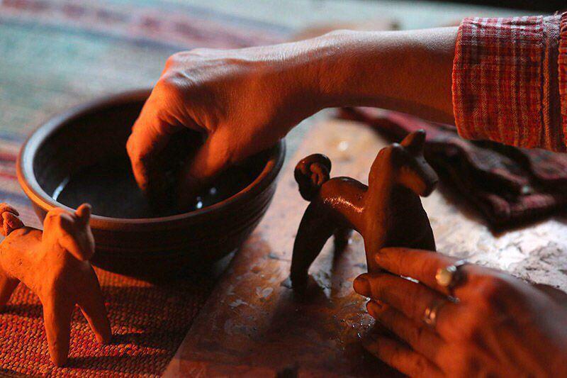 керамика для мастеркласс посуда лепка дома глина