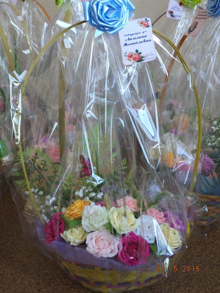конфеты цветы букет подарок