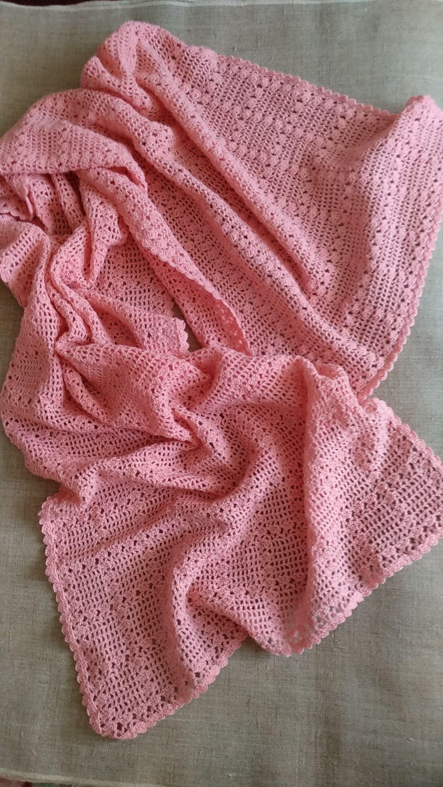 шерсть100 крючком аксессуар шикарный handmade розовый шарф_палантин купить подарок палантин