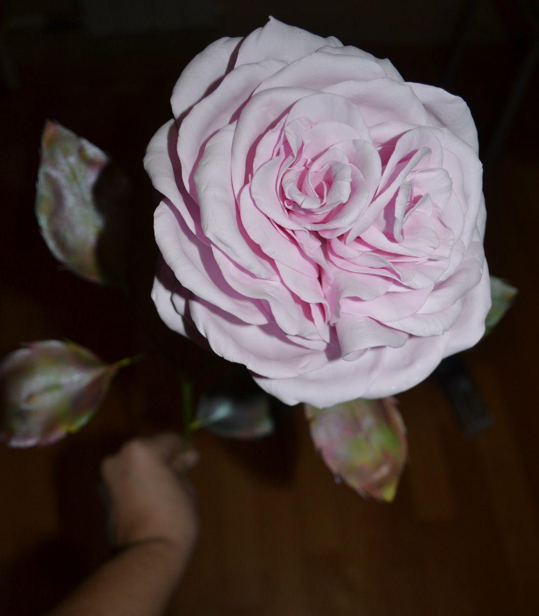 ручнаяработа розаизфоамирана сердце деньвлюблённых валентиновдень праздник роза молодожёнам