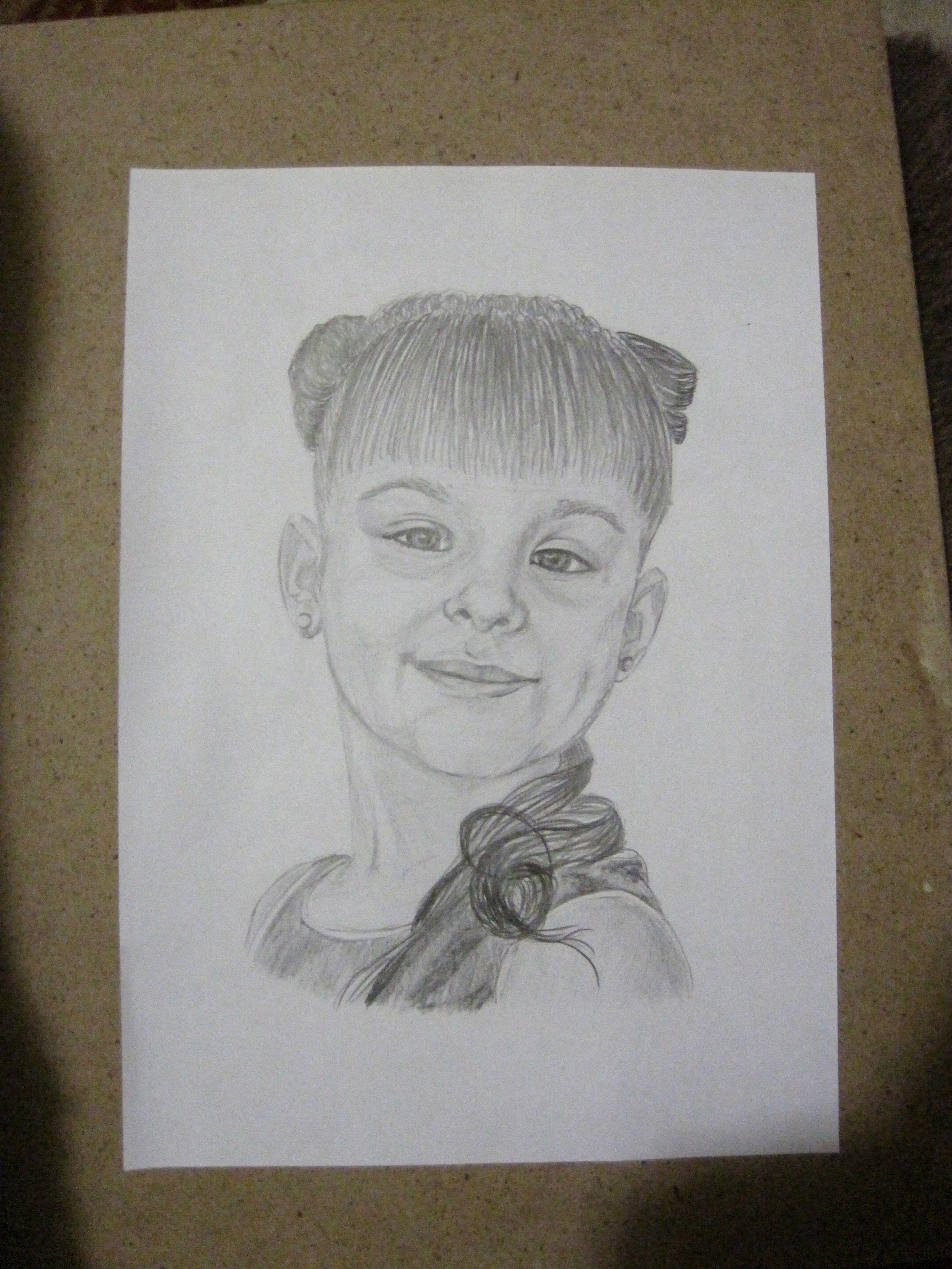 портрет рисунок