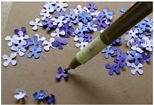 Цветы из бумаги своими руками 9