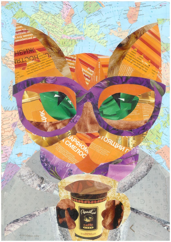 авторские посткроссингаpostcrossingкот открыткиоткрытки для