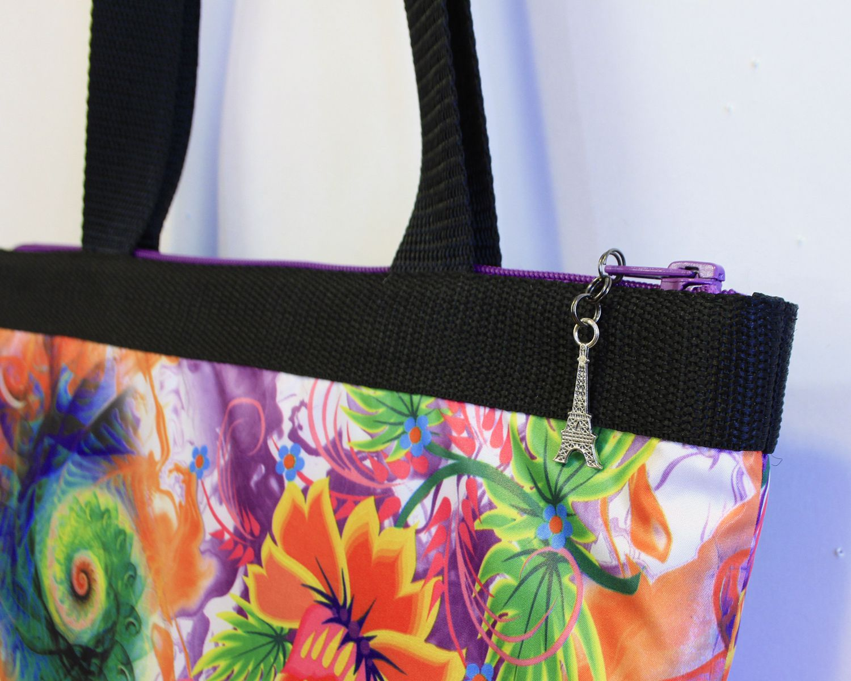 путешествие подарок сумка handmade весна фурнитура цветы стропа