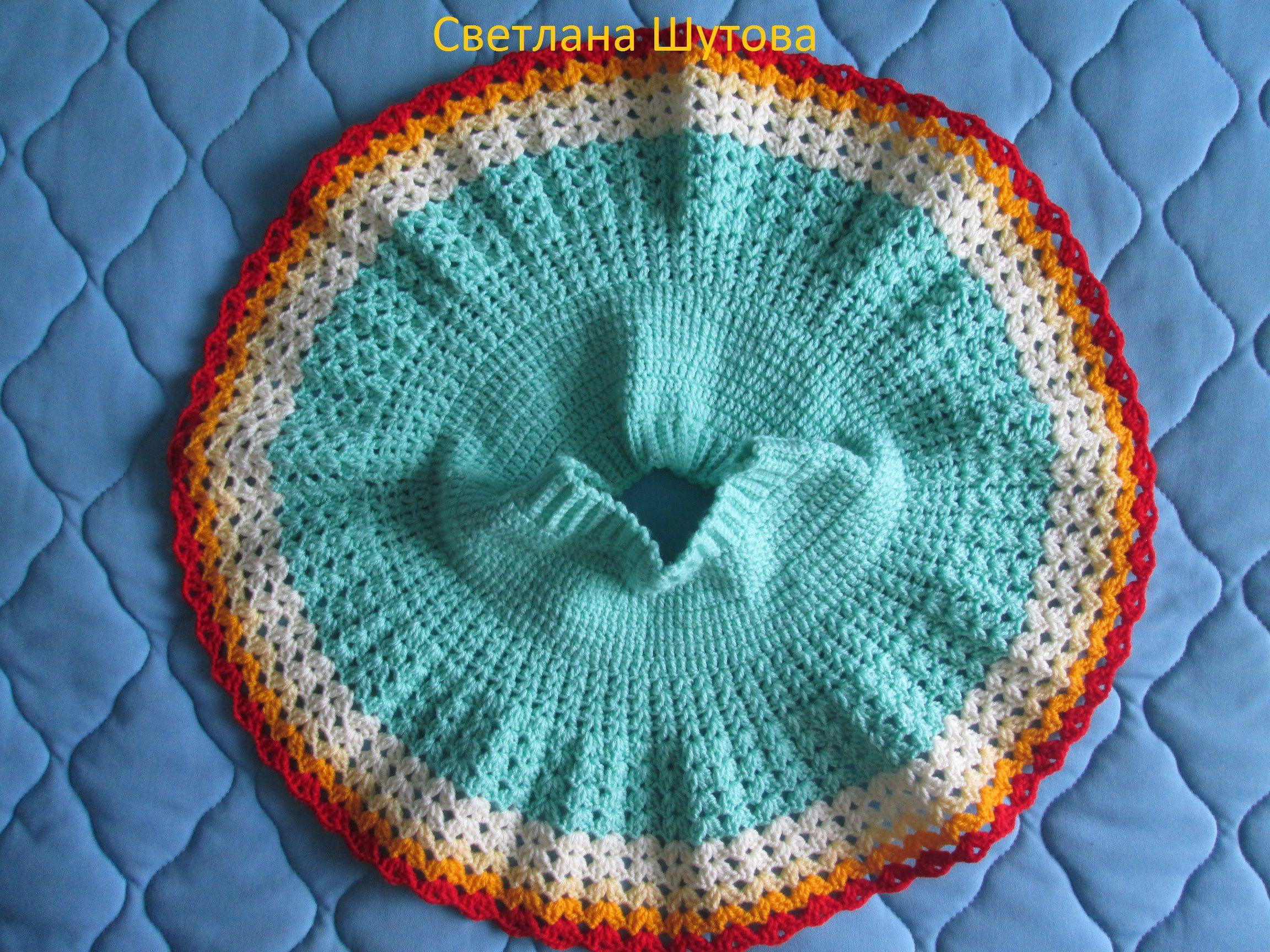 крючком юбочка одежда вязание дети ручнаяработа девочкам