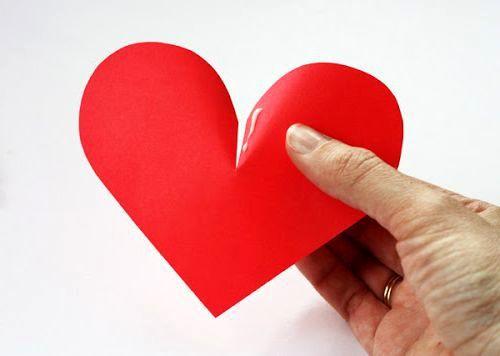 Сердечки из бумаги 3