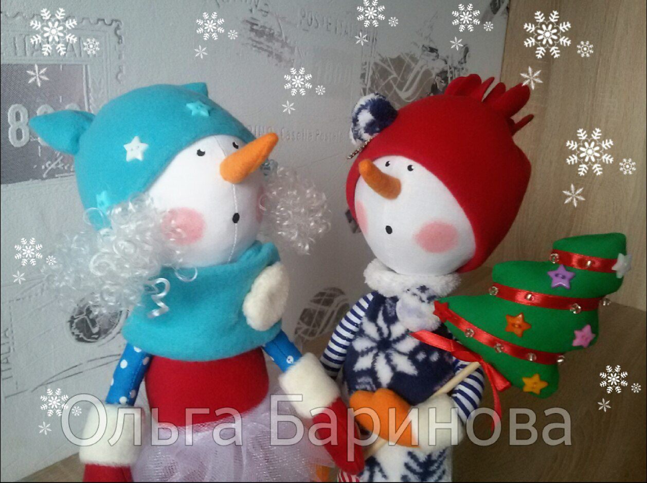 снеговик подарок