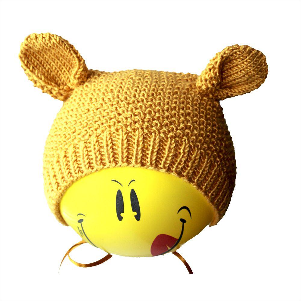 шапки чепчик купить детские с ушками фотосессии ручная шляпы для связанное продажа аксессуары детям мягкая малыша шапочка работа и спицами