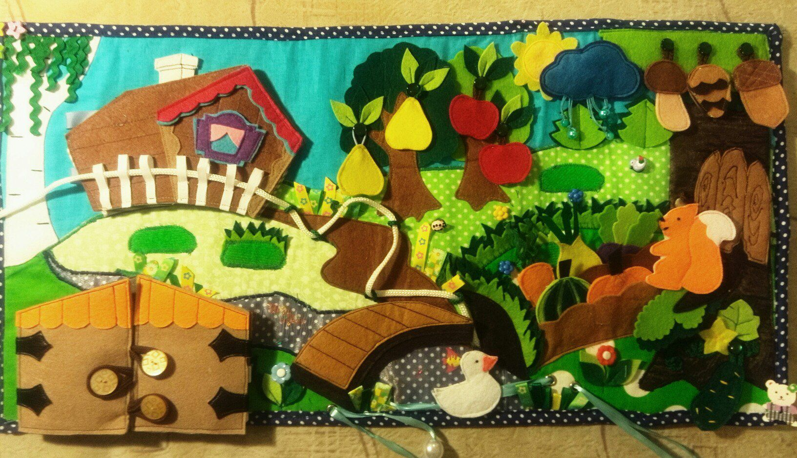 игрушки фетр развивашки малышам подароки фетрсказки