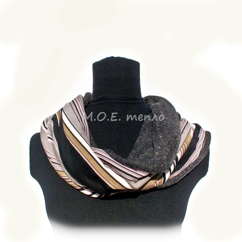 шапки шарфы моетепло снуды торжественно элегантно снуд двойныеснуды модно розовый стильно шапка тепло аксессуары полосы аксессуар шарф полосатый женственно красиво