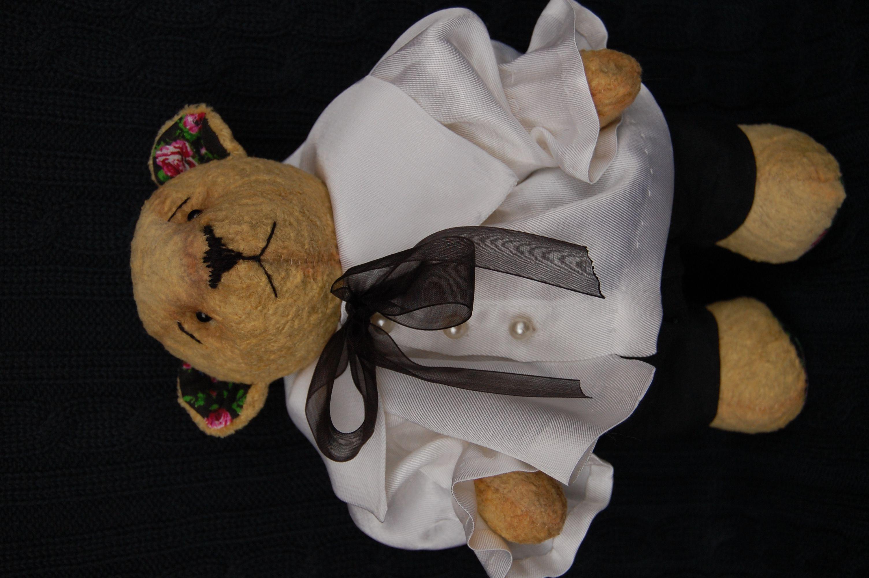 ретро игрушка мишка тедди ручная работа стиль подарок