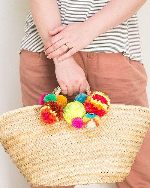 детской помпонаразноцветный помпон декора подвески для из идеи сделай сам