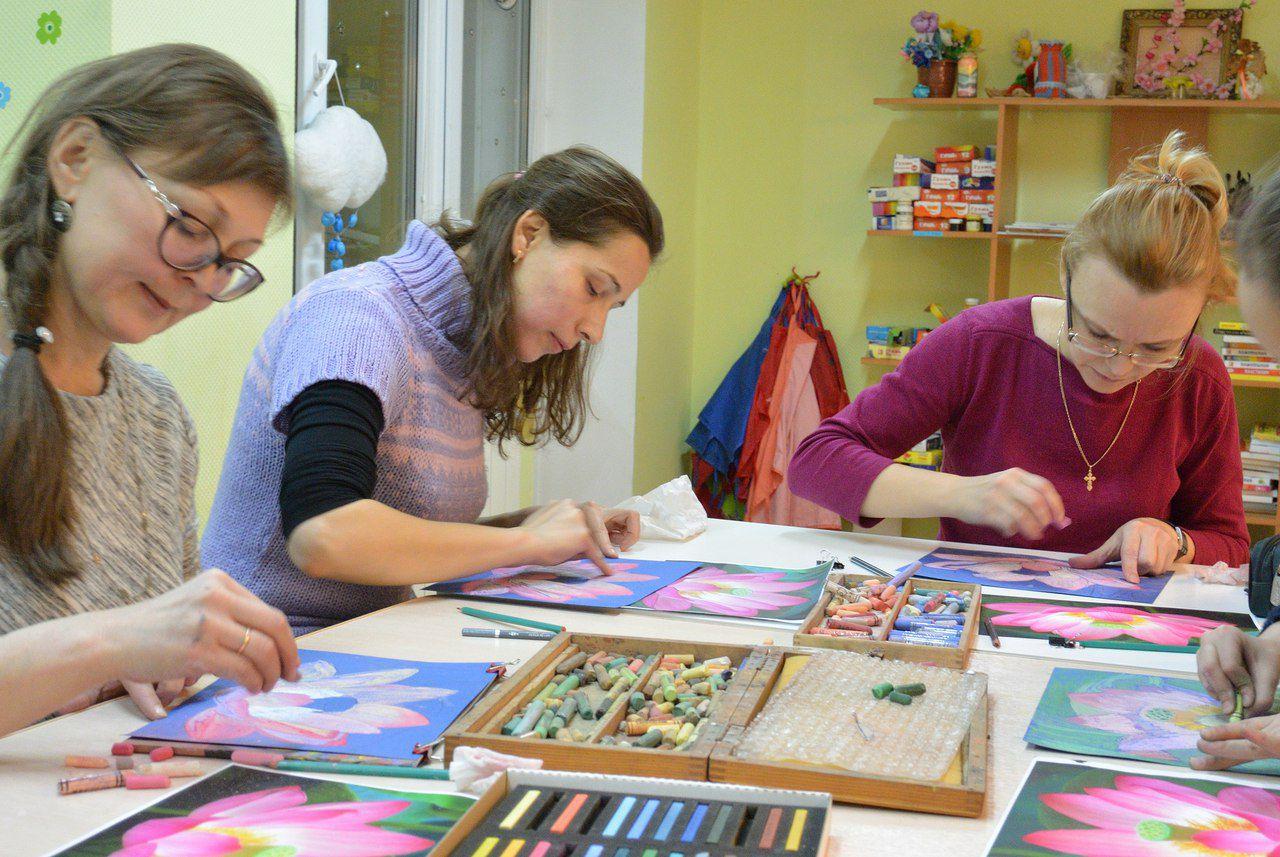 мастеркласс обучение акварели живопись