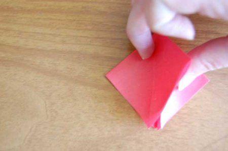 Оригами из бумаги цветы 12