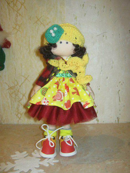 подарок кукла интерьер праздник девушкам