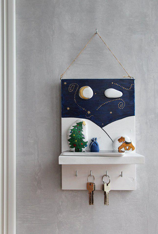 камню интерьера подарок работа ручная собака праздник полка роспись предмет дом ключница