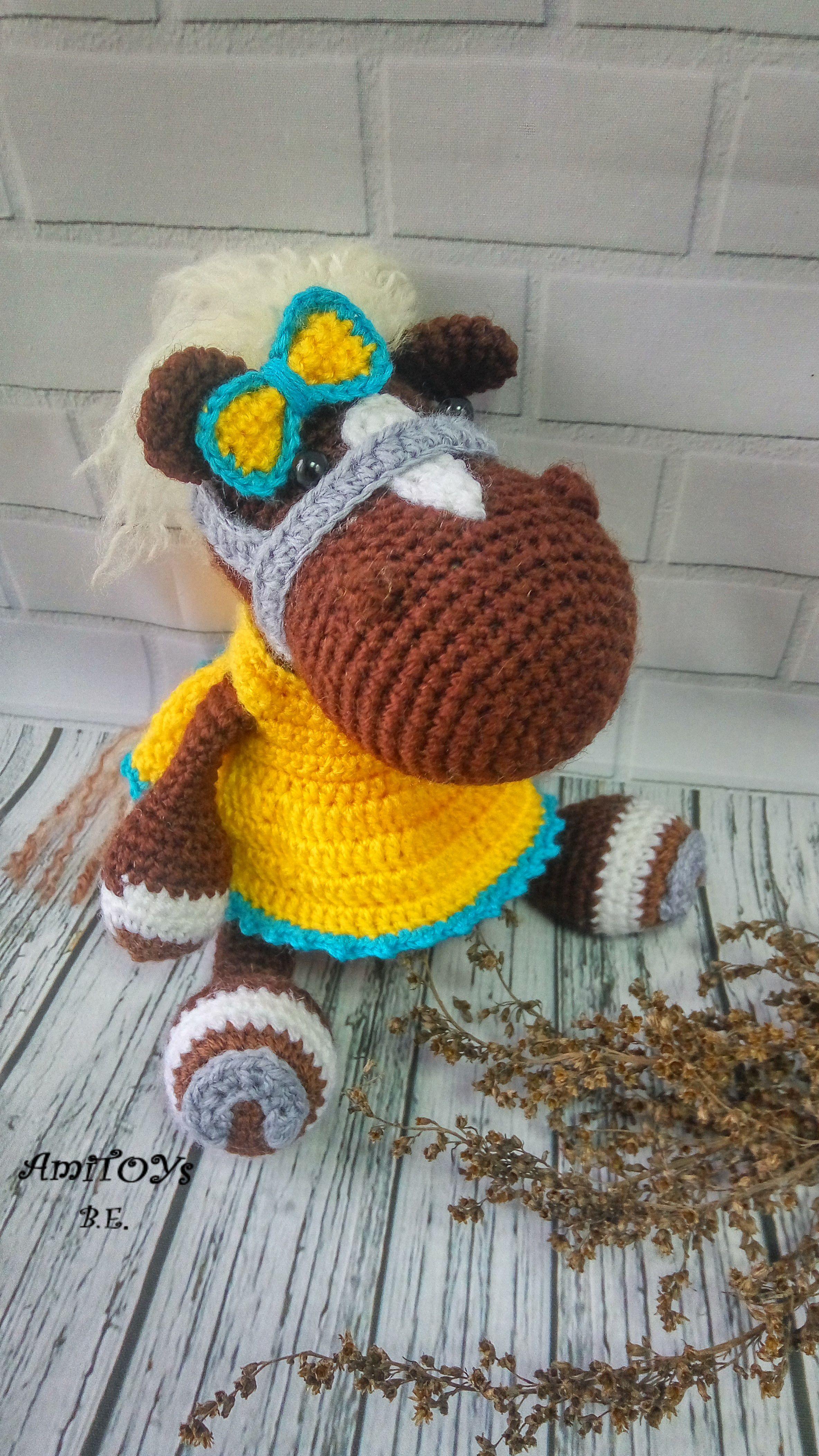 день рождения подарок амигуруми девочки ручная для лошадь handmade мягкая вязаная игрушка работа крючком