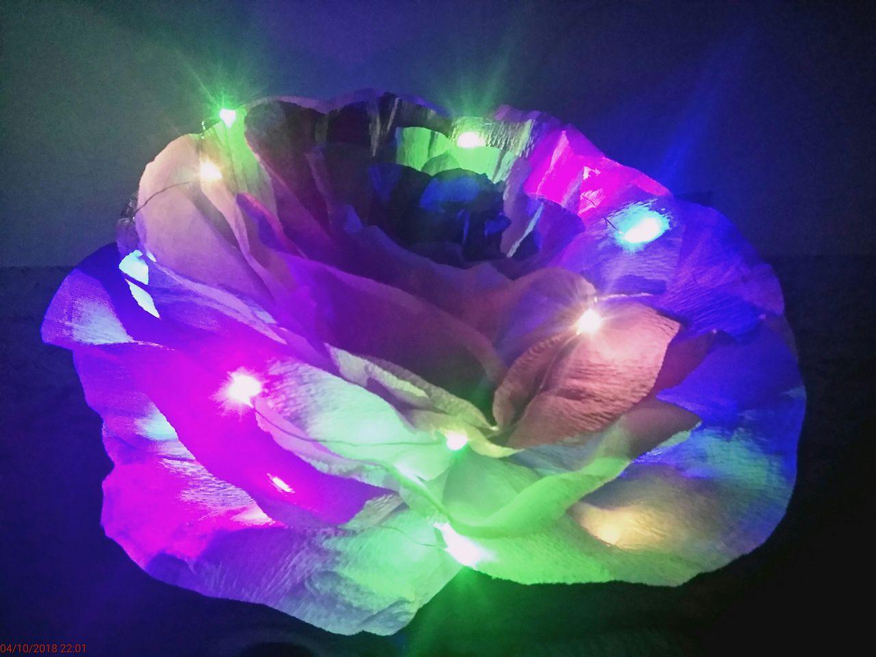 светодиодный роза handmade розасветящаяся цветок подарок