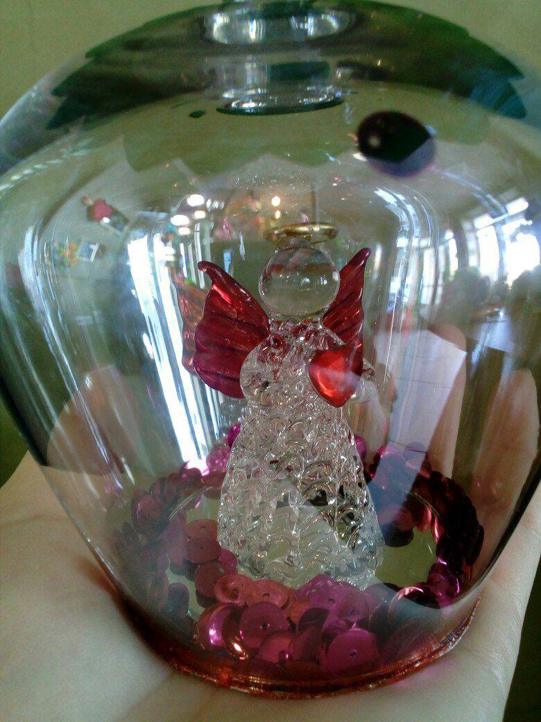 подарок работа ручная цветок ваза сувенир цветами цветы ангел