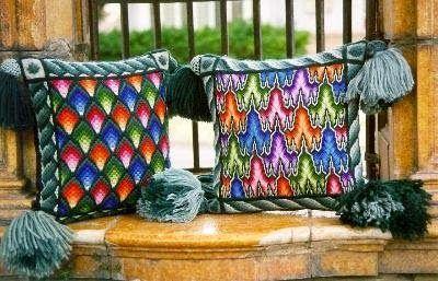 ручнаяработа декор нитки вышивка интерьер