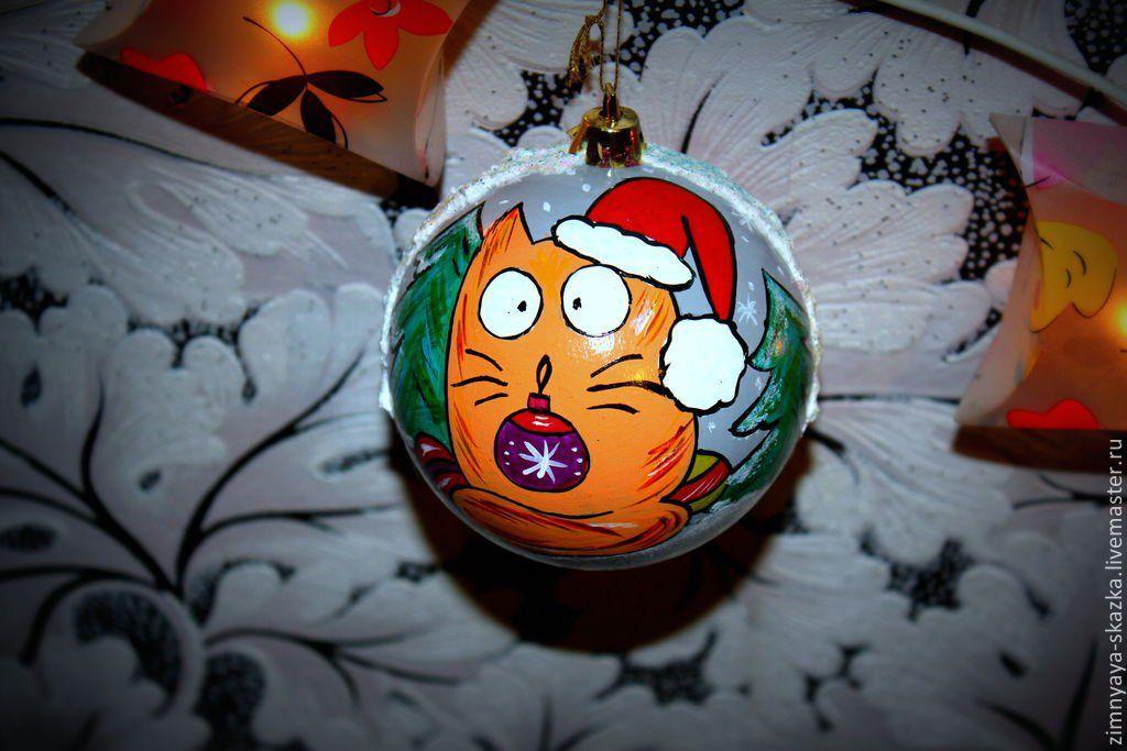 елочныеигрушки елочныешары игрушка новыйгод украшениянаелку котики кот шарик