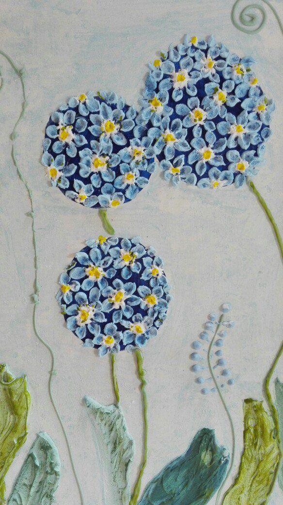 объемная цветы на авторская детскую ручная стену панно работа интерьерное в картина подарок