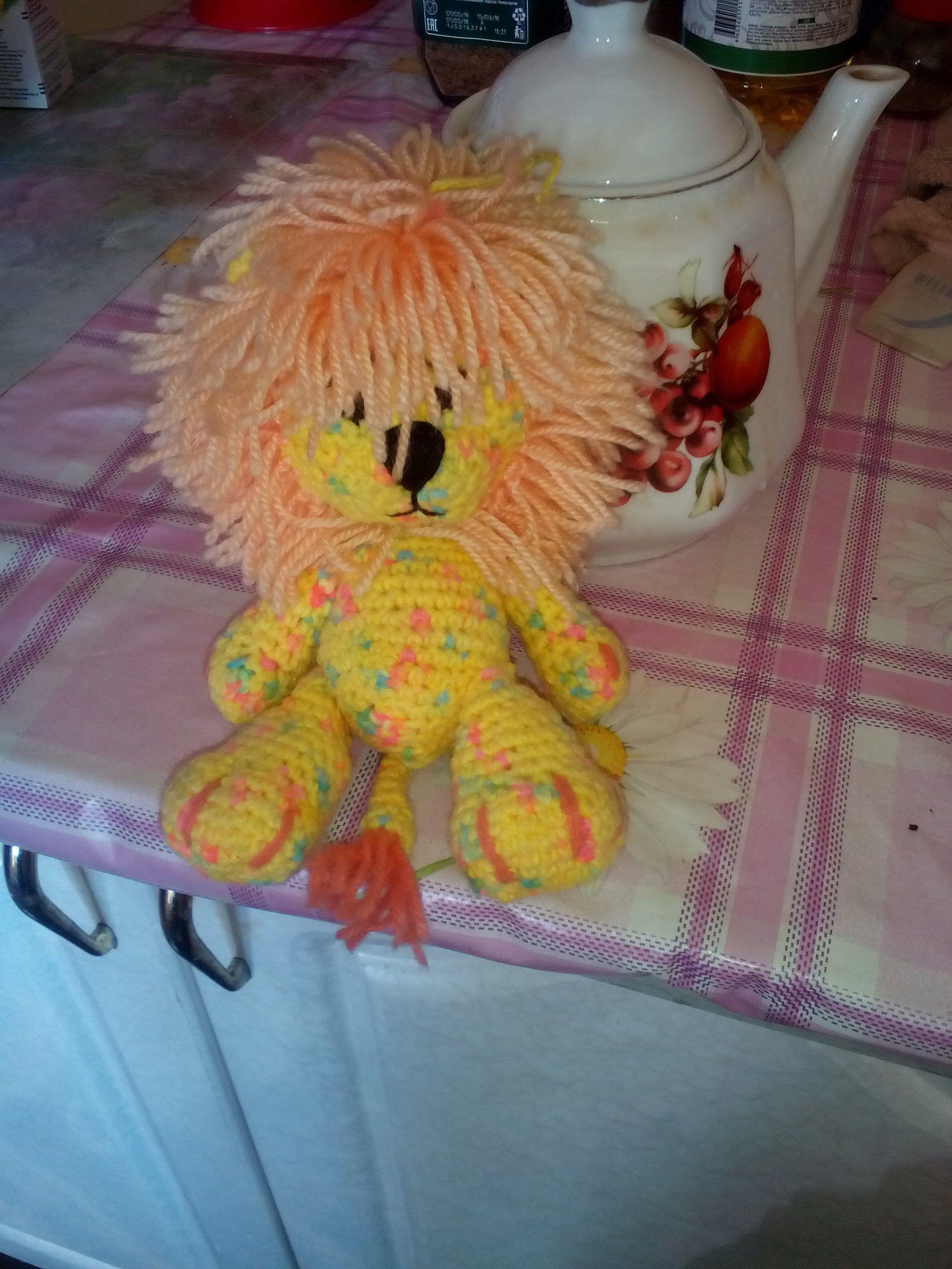 львёнок игрушка лев
