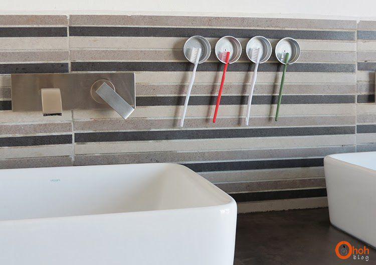 переработка подставки организация щеток зубных вторичное использование пластиковых крышекдержатели для руками своими