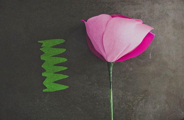 Розы из бумаги своими руками 21