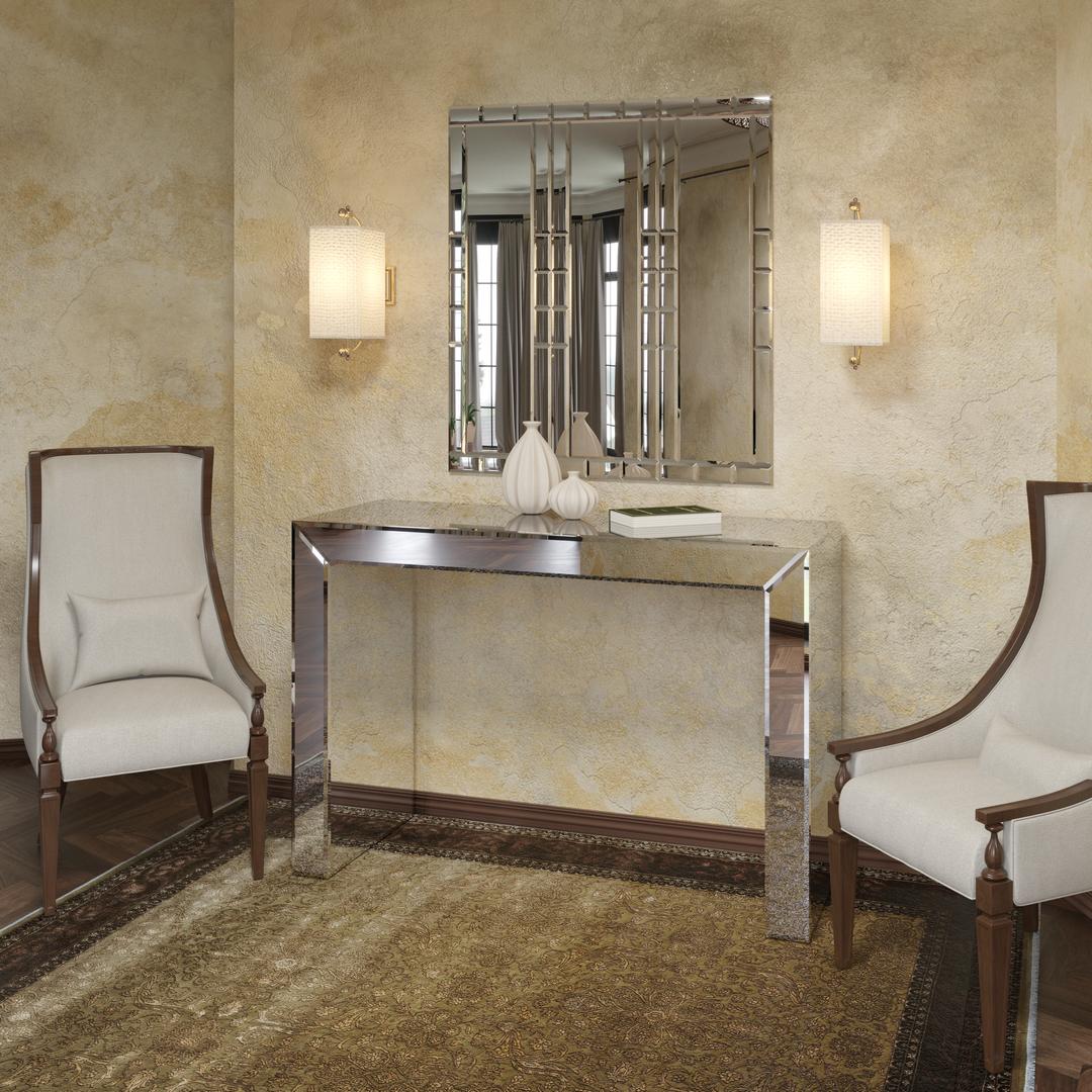 спальни консоль для décor отражение зеркал зеркальная необычная мебель дизайнерская тумба