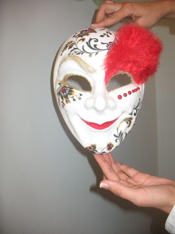 венецианская мастеркласс декупаж маска