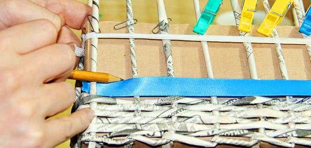 Плетение из газет 25