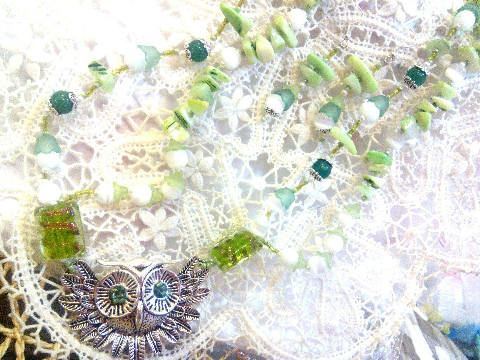авторскаяработа ожерельесовушка совушка сова