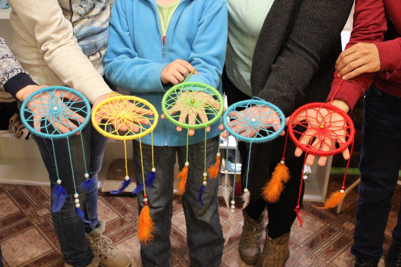 handmade сделано ручная мастер ловец класс снов обучение руками мастерская творчество работа