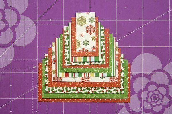 Новогодние открытки своими руками 4